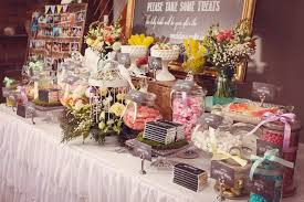 Wedding Food Tables Sweeten Up Your Wedding Reception Dessert Tables And Other Food