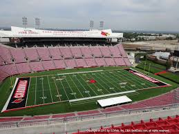 Papa John S Cardinal Stadium Seating Chart Taylor Swift Cardinal Stadium View From Section E9 Vivid Seats