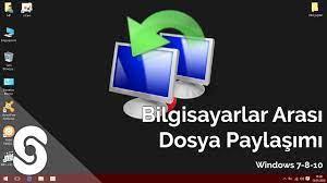 Bilgisayarlar arası ağdan dosya aktarımı (Windows 7 - 8 - 10) - YouTube