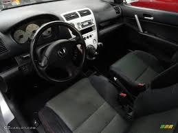Black Interior 2004 Honda Civic Si Coupe Photo #45373377 ...