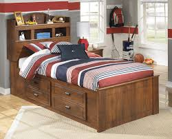 twin bed with storage and bookcase headboard. Contemporary Headboard On Twin Bed With Storage And Bookcase Headboard T