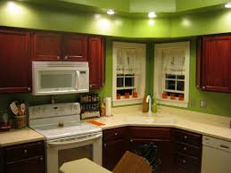 Decoration Kitchen Wall Colors With Oak Cabinets Natures Art