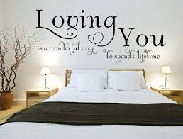wall art sayings loving you is a wonderful way to spend a lifetime wall art decal on wall art sayings for bedroom with wall art sayings tifftate me