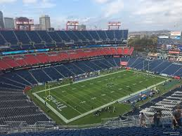 Tennessee Titans Stadium Virtual Seating Chart Nissan Stadium Section 319 Tennessee Titans