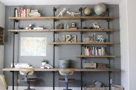14 ways to get organized with diy industrial shelving homemade photo details these gallerie we