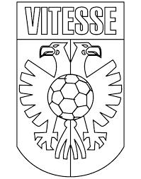 Eredivisie Logo Kleurplaten Vitesse