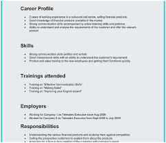 Experience In Resume Samples Call Center Resume Sample No Experience Outstanding Call Center