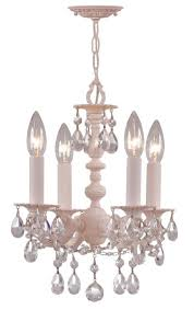 crystorama paris flea market 4 light hand cut crystal mini chandelier mini chandeliers chandeliers