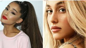 ariana grande is unrecognizable without her ponytail on british vogue allure