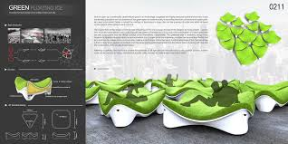 furniture design photo. Green Urban Furniture Design Photo