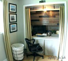 turn closet into office. Wonderful Closet Turn Closet Into Bedroom Fascinating How To Under Stairs  Office  Intended Turn Closet Into Office