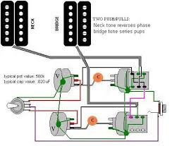 guitar tone controls ptb control mod on two conductor humbuckers 2pp phase series