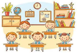 Children Education Cartoons Classroom Cartoon Stock Photos And Images 123rf