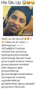dancing glo up and makeup his glo up daily gloup ig