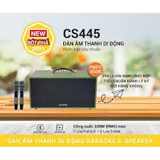 Dàn Âm Thanh Di Động ACNOS Mini CS 445 Phiên Bản Tiêu Chuẩn - Hàng Chính  Hãng - Hát Karaoke Cực Hay