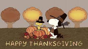 74+] Snoopy Thanksgiving Wallpaper on ...