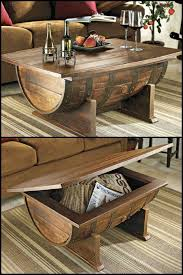 wine barrell furniture. How To Make A Wine Barrel Coffee Table Barrell Furniture