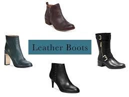 womens leather boots macys