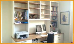 home office unit. Shelving For Home Office Above Desk Unit Made From Oak And Painted N