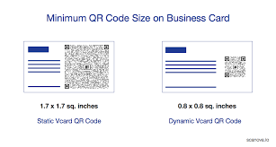 Qr Code Size Business Card Find Out The Ideal Size For Your