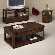 Three Piece Living Room Table Set Coaster Occasional Table Sets 3 Piece Round Occasional Table Set