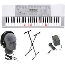 Casio Inc Lk175 61 Key Lighted Key Personal Keyboard Casio Lk 175 61 Key Lighted Keyboard With Power Supply By