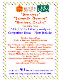 th grade parcc practice teaching resources teachers pay teachers  literary analysis oranges seventh grade