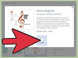 how to make music program how to make a word template 13 steps with pictures wikihow