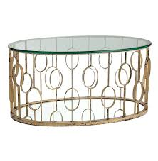 oval metal coffee table amazing golden oval modern gold metal coffee table with glass top idea