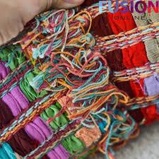 100 cotton handmade multi colour chindi rug area rag rugs flat weave mat mats