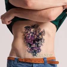 водонепроницаемая временная татуировка наклейка павлин временная татуировка