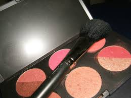 mac cosmetics collection stock photography