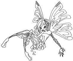 Bộ tranh tô màu công chúa phép thuật Winx độc đáo - Hedieuhanh.Com