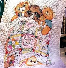 Stamped Cross Stitch Baby Quilts Disney Dimensions Needlecrafts ... & Stamped Cross Stitch Baby Quilts Disney Dimensions Needlecrafts Stamped  Cross Stitch Baby Abc Quilt Stamped Cross Adamdwight.com