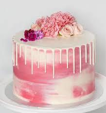 Modern Design Birthday Cake Fondant Cakes In Lahore