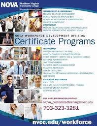 Novas Workforce Development Division Offers Training And