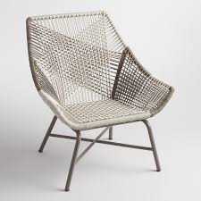 N Mid Century Wicker Chair