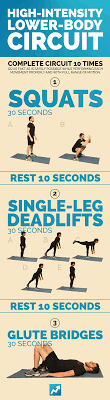 high intensity lower body workout