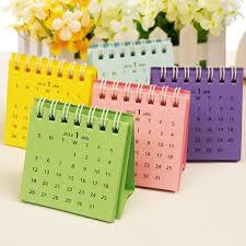small desktop calendar mini desk calendar aztec