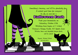 Halloween Invitation Template Incredible Halloween Party Invitation Wording Which You Need To Make 16