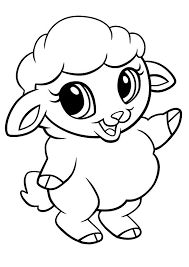 Small Picture Cute sheep coloring pages printable ColoringStar