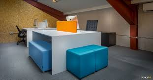 showroom office. Spaceist Showroom White Office Desks