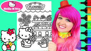 You can also find the best hello kitty accessories. Coloring Hello Kitty Flower Shop Coloring Page Prismacolor Markers Kim Hello Kitty Colouring Pages Hello Kitty Coloring Crayola Coloring Pages