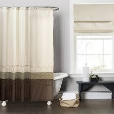 brown shower curtains. Plain Brown Copper Grove Mostri Green  Brown Shower Curtain For Curtains I