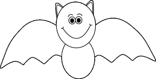 halloween cat clipart black and white. Wonderful Black Black And White Halloween Bat  Clip Art Clipart Library On Cat And White E