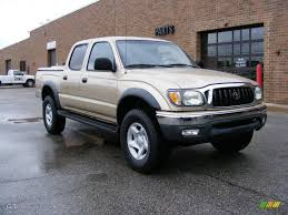 2001 Mystic Gold Metallic Toyota Tacoma PreRunner Double Cab ...