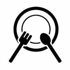 ランチシルエット イラストの無料ダウンロードサイトシルエットac