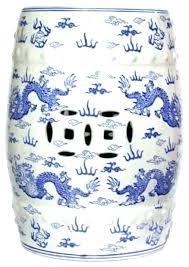 blue garden stool. Navy Blue Garden Stool Amazing Light Ceramic
