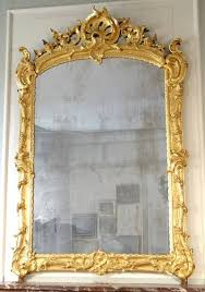 early louis xv period overmantle mirror