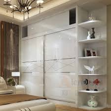 Remarkable Custom Made Closet High Gloss Lacquer Glass Bedroom - Custom bedroom cabinets